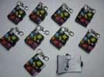 PARTY BAG FILLERS PARTY FAVOUR KEY RINGS 10 PIECES